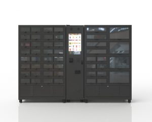 Click und Collect Klappenautomat